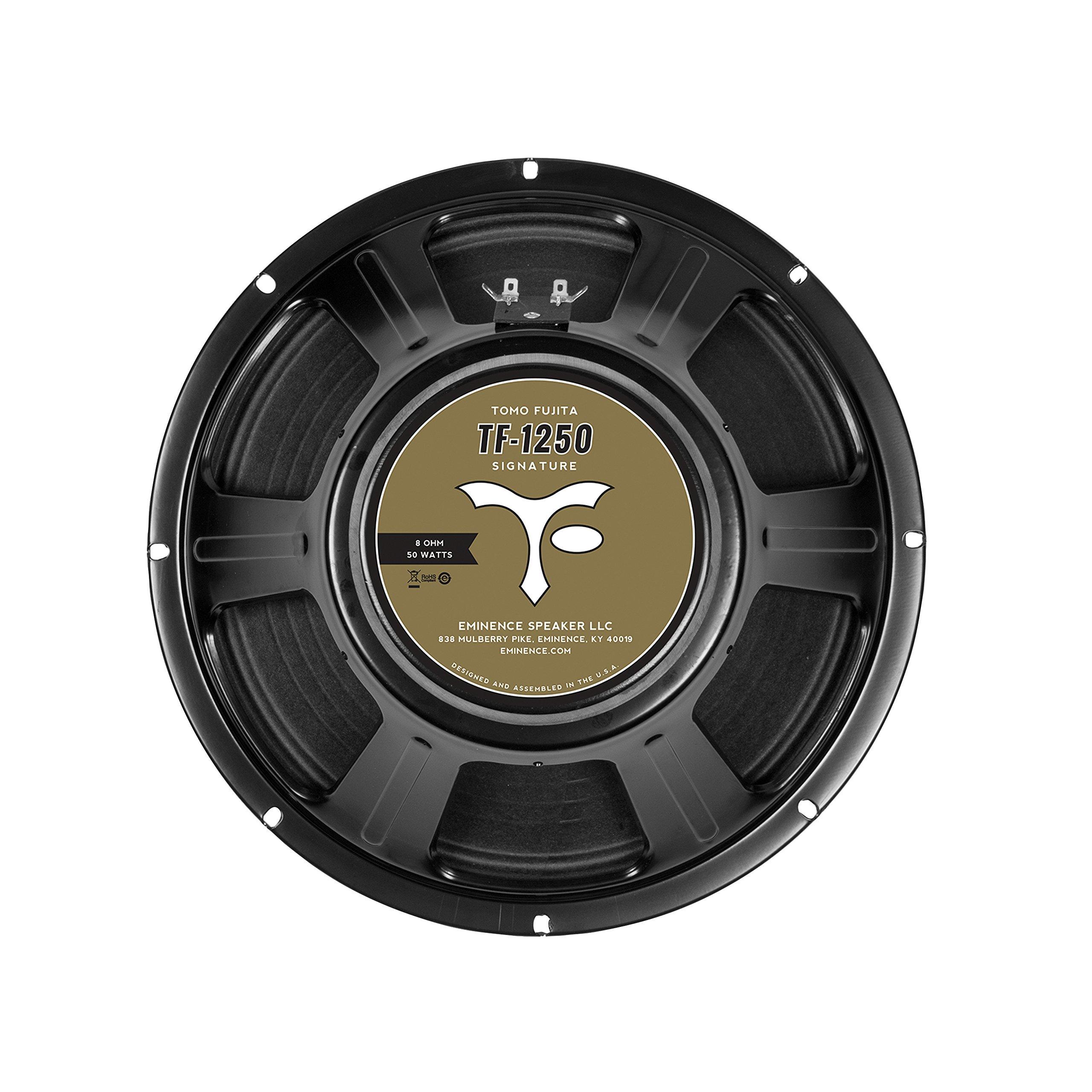 Eminence Signature Series TF-1250 12'' Tomo Fujita Guitar Speaker, 50 Watts at 8 Ohms