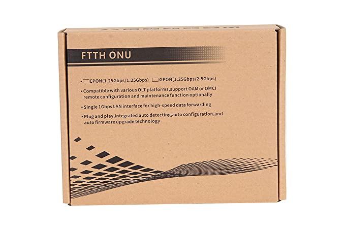 Electroline FTTH ONU 1GE EPON EUZ01GS Optical Network Terminal (Pack of 2)