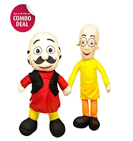 Buy Cips Motu Patlu 2 Pc 40 Cm And 52 Cm Teddy Bear Plush Toy Soft