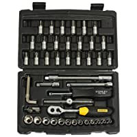 STANLEY STMT72794-8-12 1/4'' Square Drive Metric Socket Set -46pcs