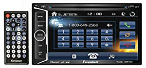 "TI-623B - Farenheit in-Dash 2-DIN 6.2"" LCD Touchscreen DVD Receiver with Bluetooth"