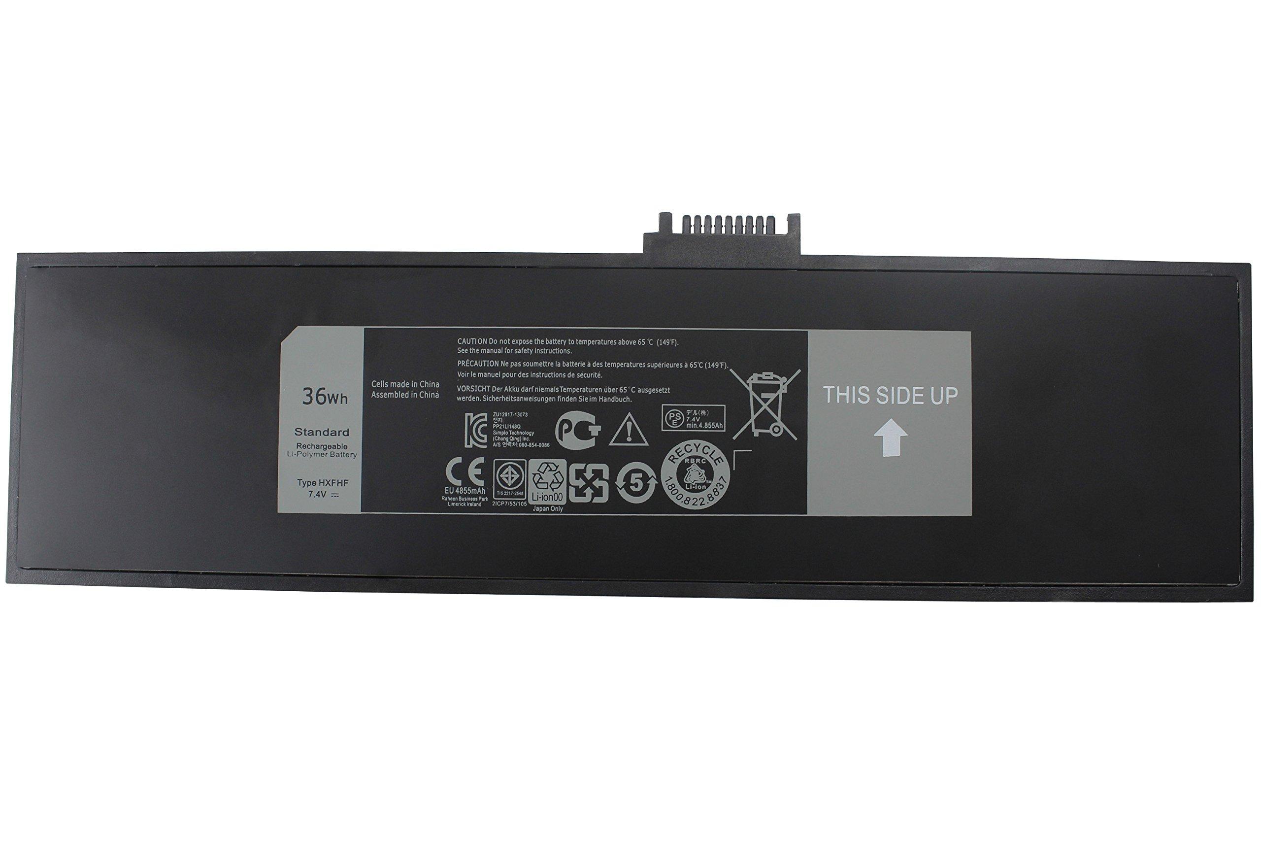 FLYTEN NEW HXFHF VJF0X Laptop Battery For Dell Venue 11 Pro 7130,Venue 11 Pro 7130 Tablet,Venue 11 Pro 7139,Venue 11 Pro 7140 Series 12 Months Warranty