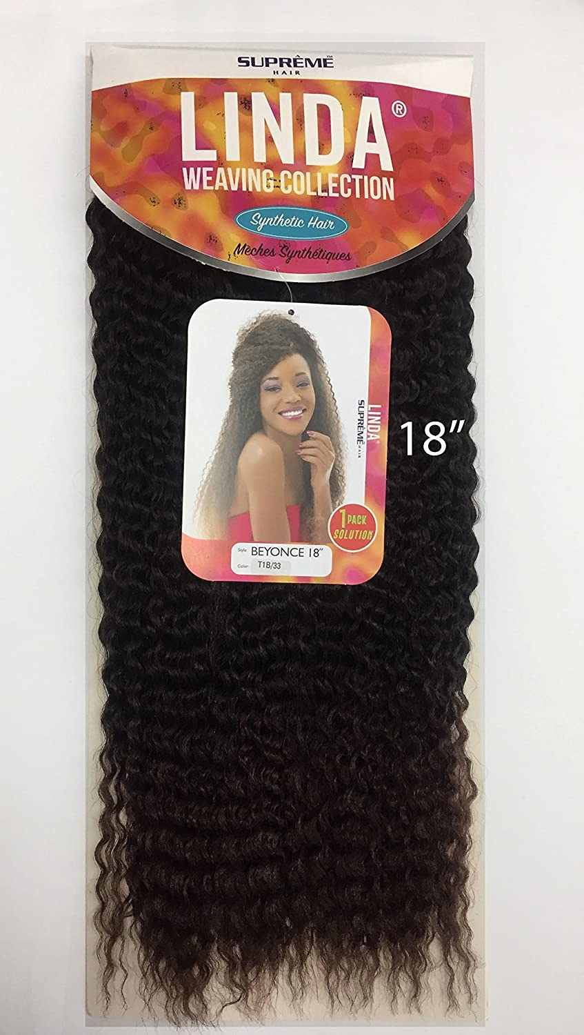 Amazon Supreme Linda Collection Synthetic Hair Weave 1 Pack
