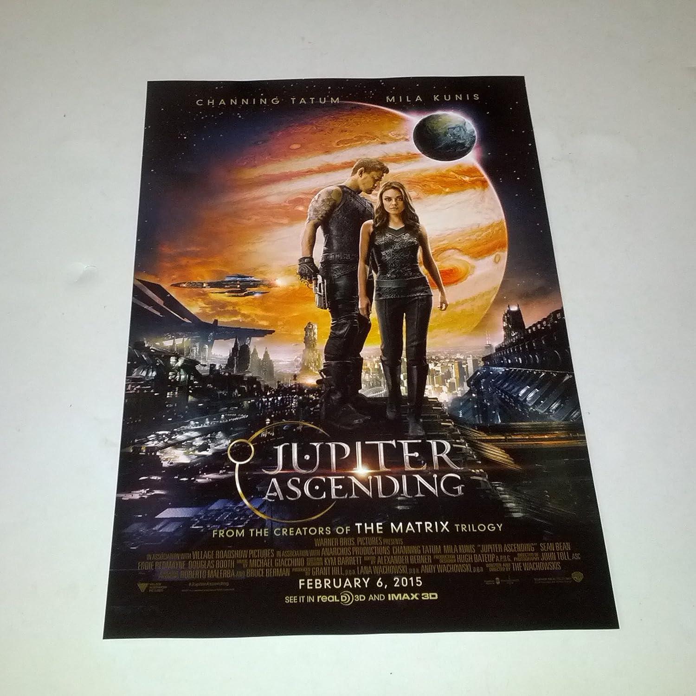 Jupiter Ascending 2015 Mini One Sheet Movie Poster Wachowskis Channing Tatum Mila Kunis Eddie Redmayne At Amazon S Entertainment Collectibles Store
