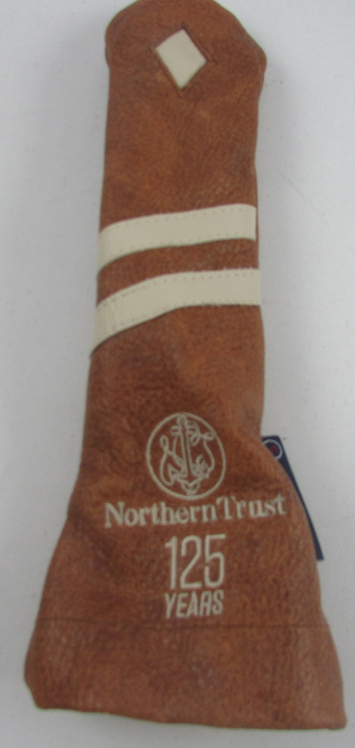 Stitch Golf Club Leather 25H <> Rescue Hybrid HEADCOVER Northern Trust 125 years