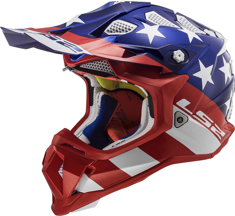 Amazon.com: LS2 Helmets Motorcycle & Powersports Helmets Off-Road Subverter Voodoo Medium: Automotive