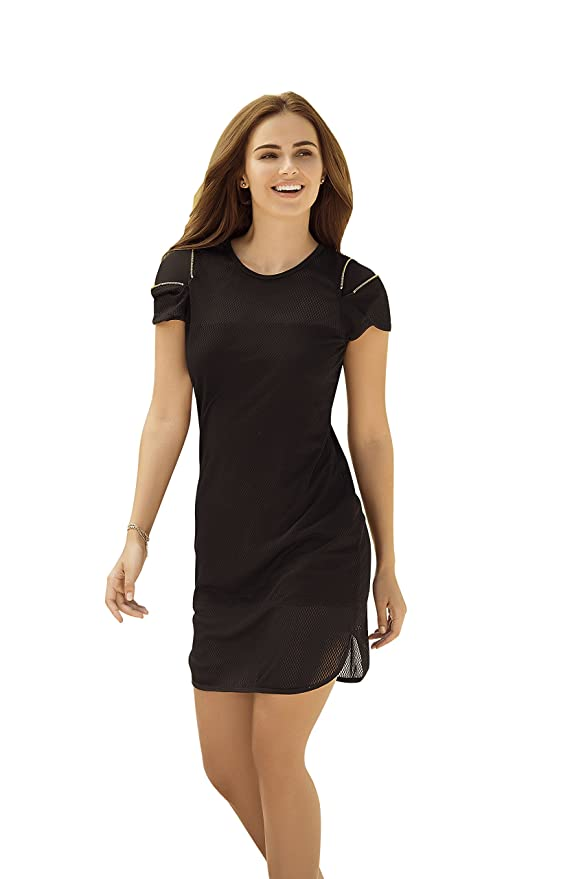 Mapalé Short Sleeve Dresses for Women Vestidos Manga Corta Playeros Para Mujer at Amazon Womens Clothing store: