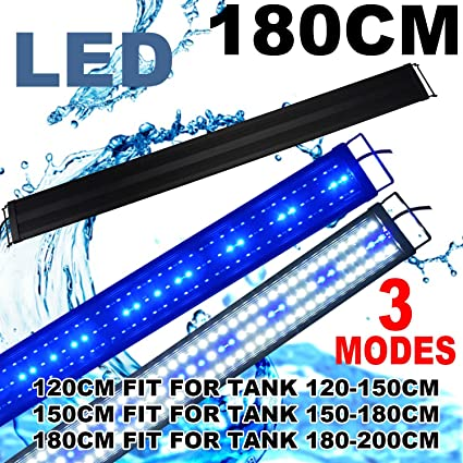 Groovy Amazon Com Kzkr Led Aquarium Hood Lighting 72 78 Inch Fish Tank Wiring Digital Resources Remcakbiperorg
