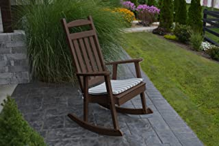 product image for Furniture Barn USA Outdoor Poly Classic Porch Rocker - Tudor Brown
