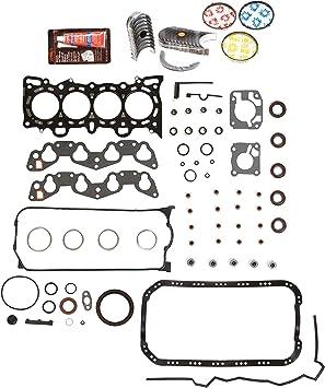 NEW 92-95 Honda Civic Del Sol VTEC 1.6L D16Z6 SOHC *GRAPHITE* Head Gasket Set