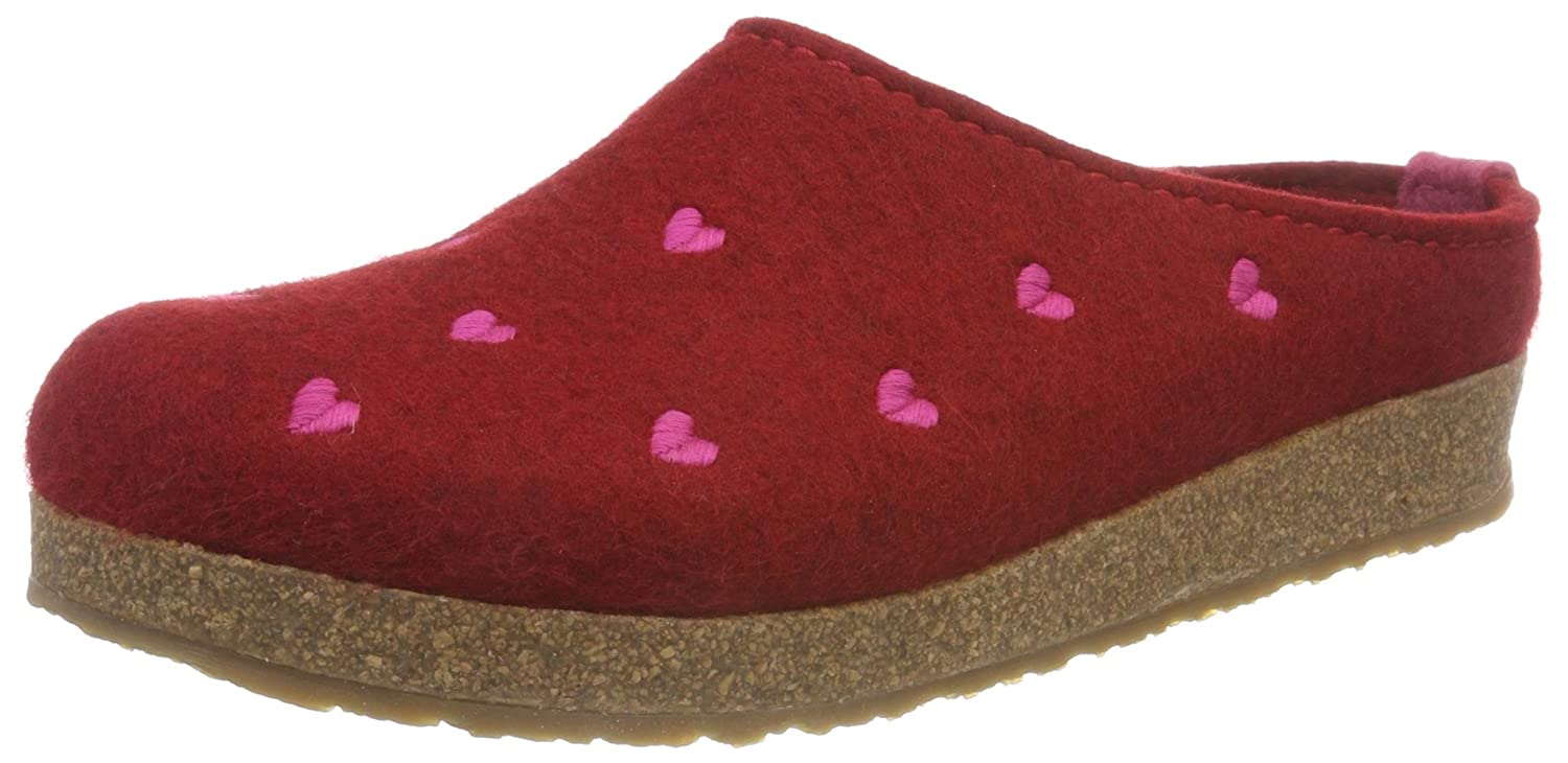 Haflinger Couriccini Grizzly, 12257 Chaussons Mules Femme Couriccini Rouge Chaussons (Paprika 42) 99b948c - piero.space