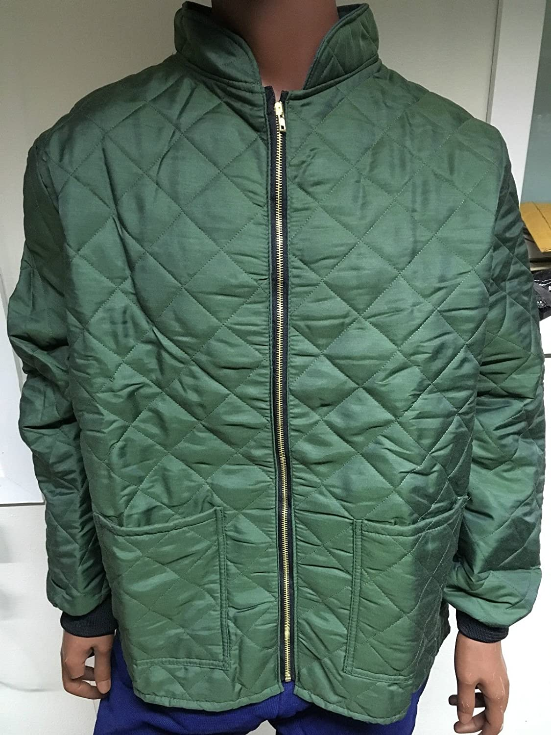 Green Thermal Quilted F/R Jacket - size 2XL