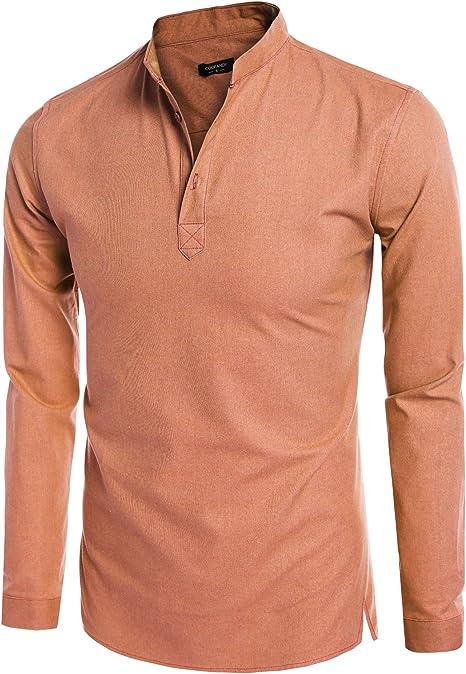 ChicWhisper Girls 2 Pack Regular Fit Easy Blouse to Iron Long Sleeve School Shirt