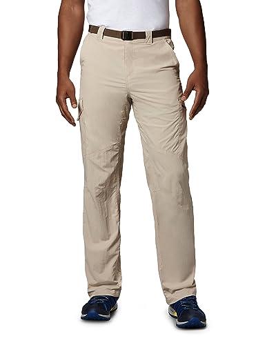 Columbia Silver - Pantalones de senderismo para hombre, tamaño 40, color 0