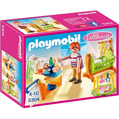 PLAYMOBIL Baby Room with Cradle: Toys & Games