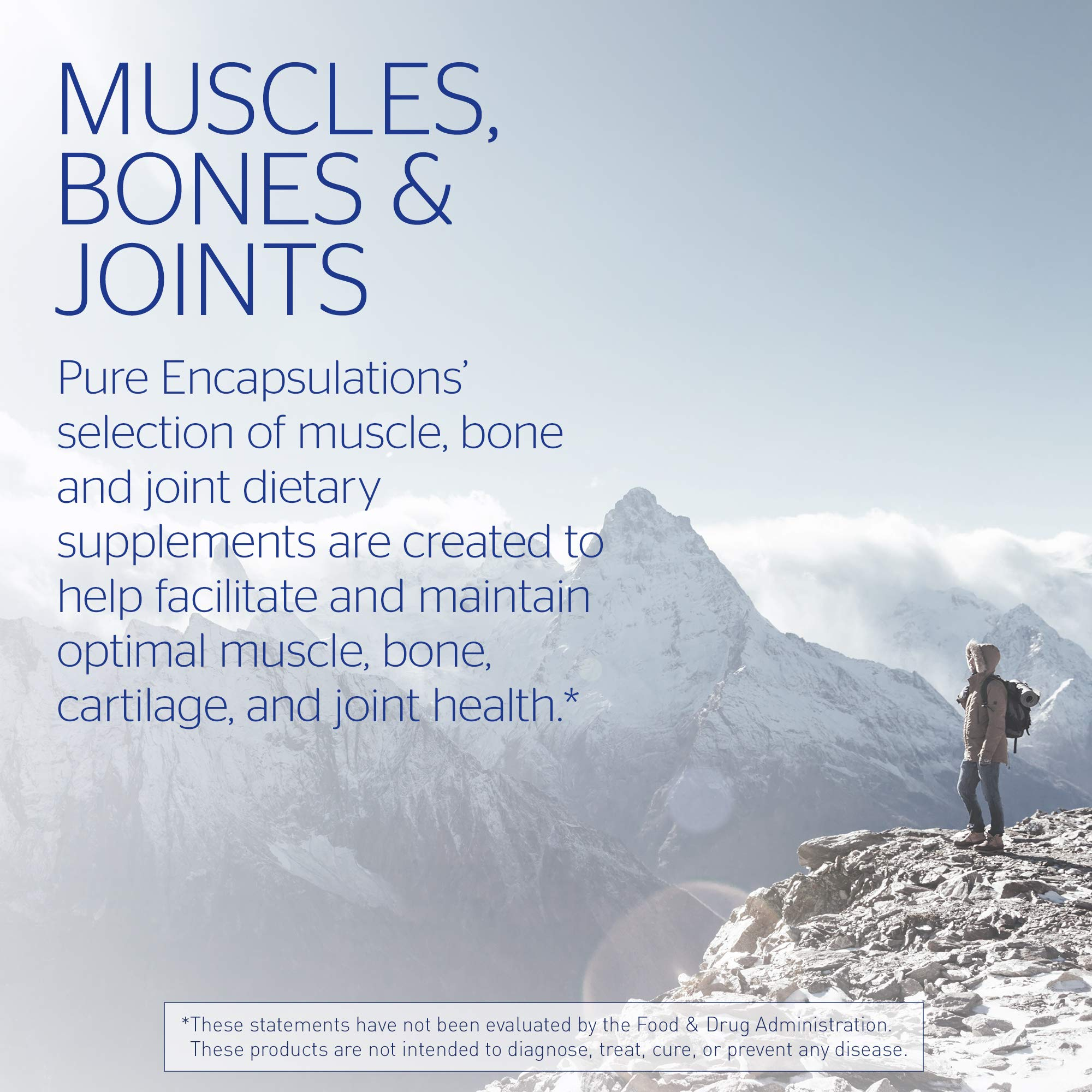Pure Encapsulations - Glucosamine + Chondroitin with MSM - Healthy Cartilage Strength and Resilience* - 240 Capsules by Pure Encapsulations (Image #5)