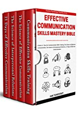 Effective Communication Skills Mastery Bible: 4 Books in 1 Boxset (Positive Psychology Coaching Series Book 21) Kindle Edition