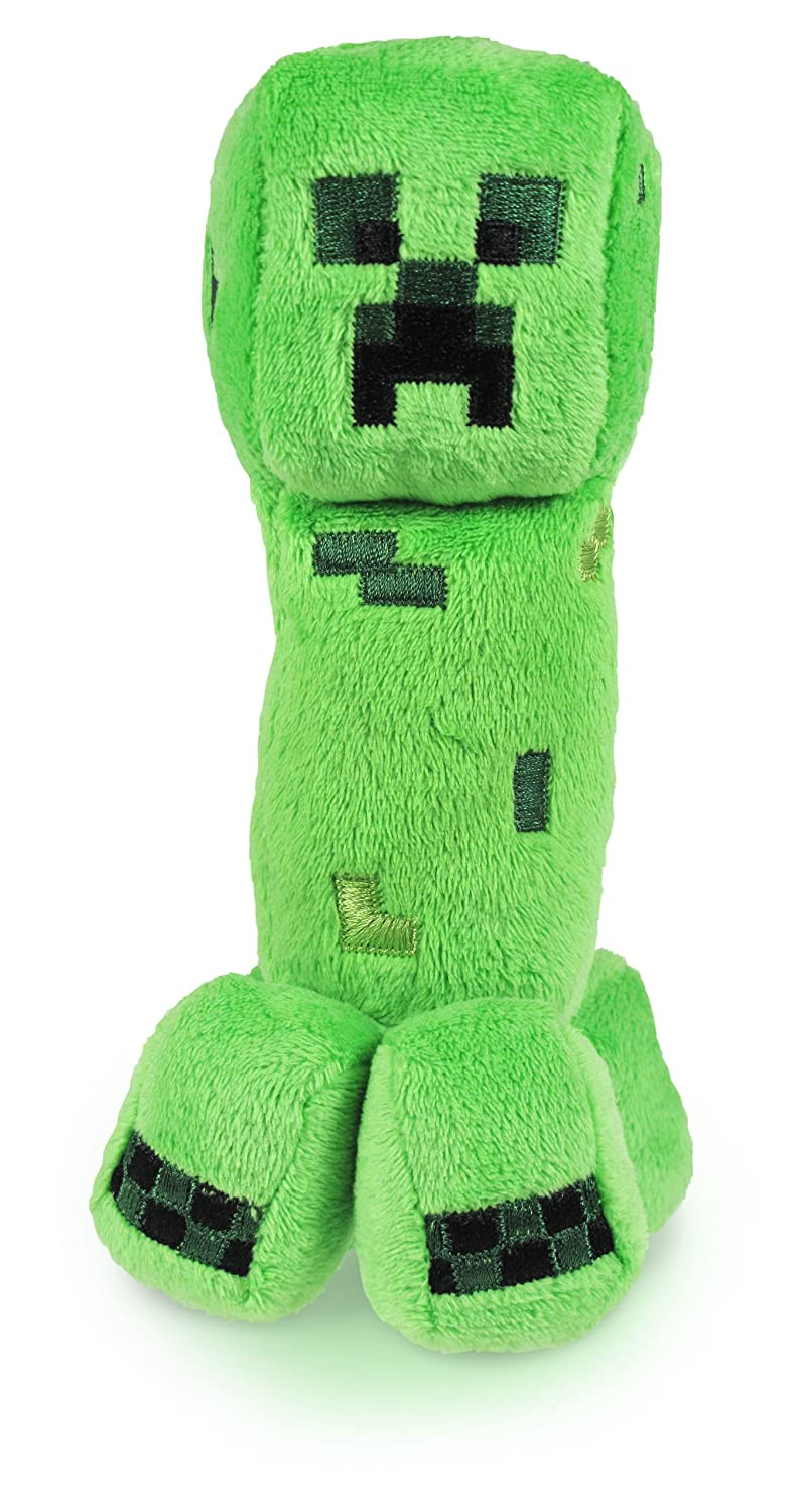 22a4e4185bd7 Minecraft 7-inch Creeper Soft Toy  Amazon.co.uk  Toys   Games