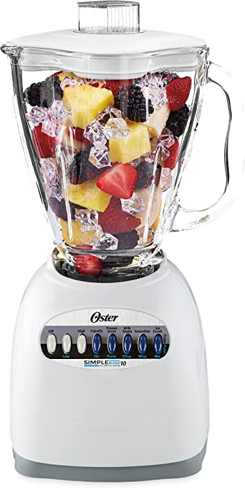 The Best Blender And Chopper Oster Red