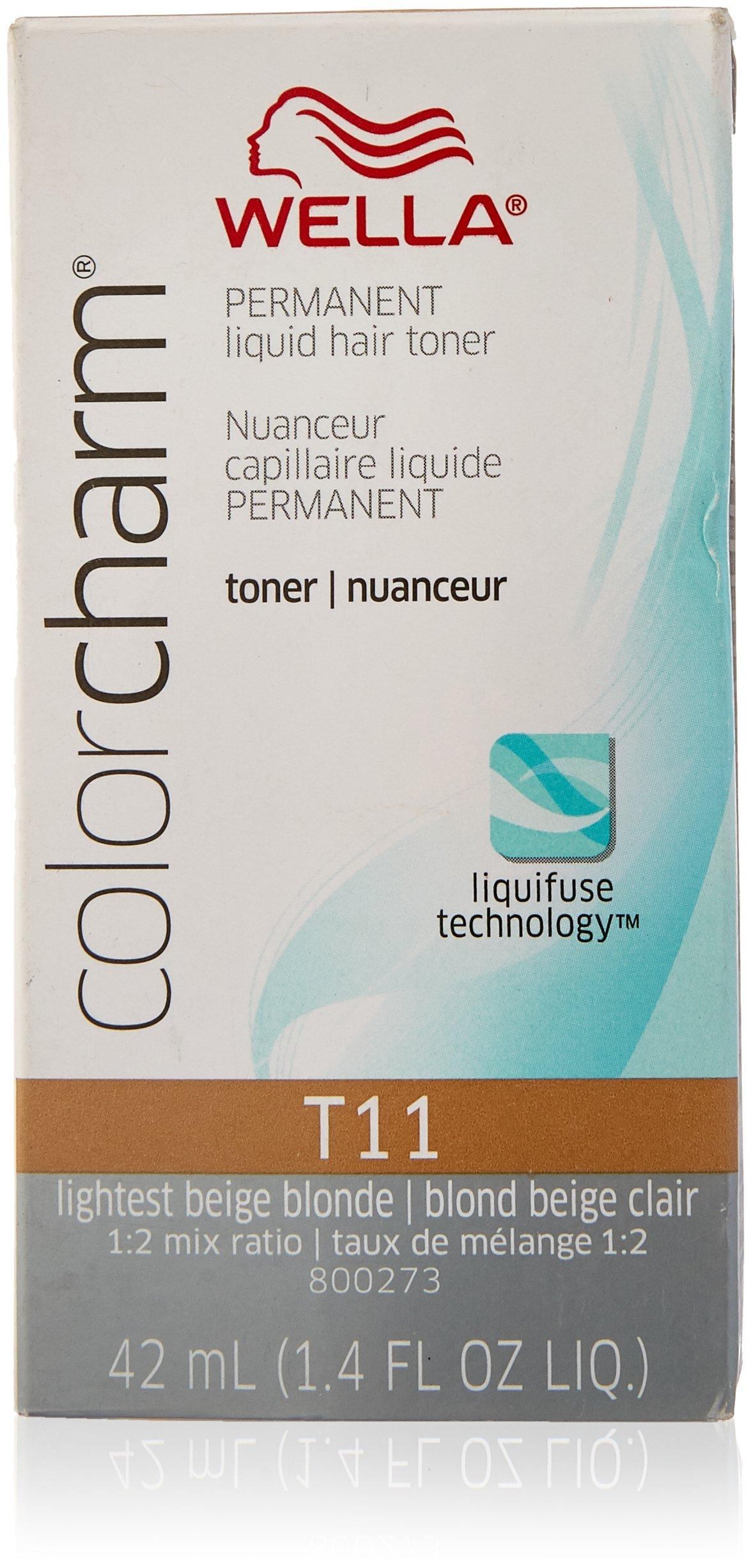 Amazon T18 Lightest Ash Blonde Color Charm Toner Chemical