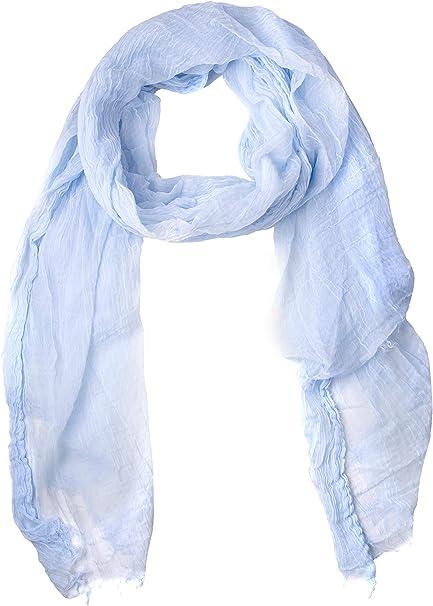 GIULIA BIONDI 100/% Made in Italy Sciarpa di Lana Leggera Stola Scialle Foulard Morbida Elegante Invernale Grande per Donna e Uomo