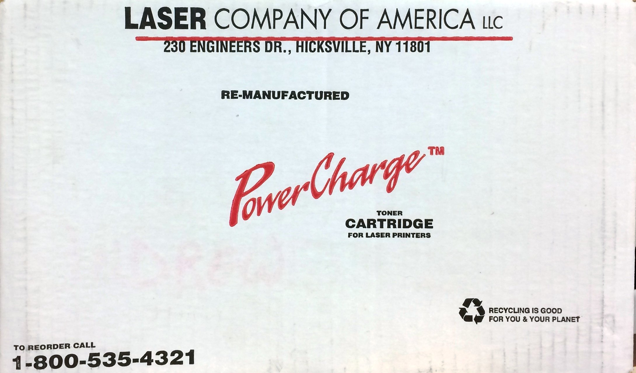 POWER CHARGE TONER CARTRIDGE LJ 4000 FOR USE IN HP LASER JET 4000, 4000T, AND 4000TN by POWER CHARGE (Image #1)