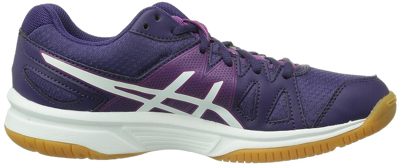 Asics Gel-Upcourt, Chaussures de badminton femme - Violet (Purple/White/Fuchsia 3301), 41.5 EU (7.5 UK) (9.5 US)