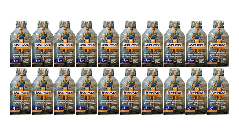 Nathan ns1338ppスポーツWashランドリー洗剤(20パック、1オンス B073VKPLRV