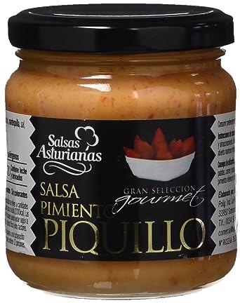 Salsas Asturianas Salsa de Pimientos de Piquillo - 190 gr - [Pack de 6]