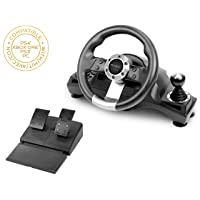 Subsonic SA5156 - Drive Pro Sport Racing Wheel for Playstation 4, PS4 Slim, PS4...