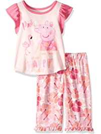 Peppa Pig Girls  Toddler 2 Piece Jersey Pajama Set 2f363f758