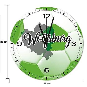 AM Wohnideen - Reloj de Pared con Orificios en 3D, diseño de ...