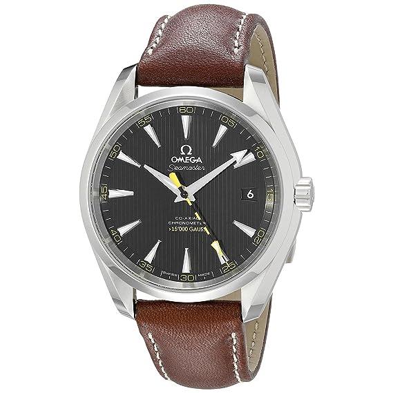 Omega Aqua Terra 231.12.42.21.01.001 - Reloj de pulsera para hombre: Amazon.es: Relojes