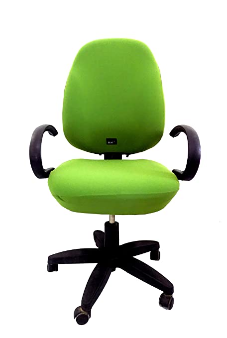 Groovy Office Chair Slipcover Seat X One Size Fit All Adjustable Full Cover Universal Green Machost Co Dining Chair Design Ideas Machostcouk