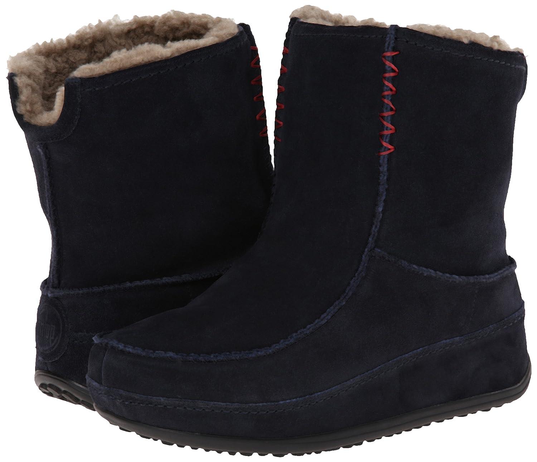 2 super Femme Boots Fitflop Navy Moc Mukluk uk 41 Bleu 7 eu EOqTcgfY1w