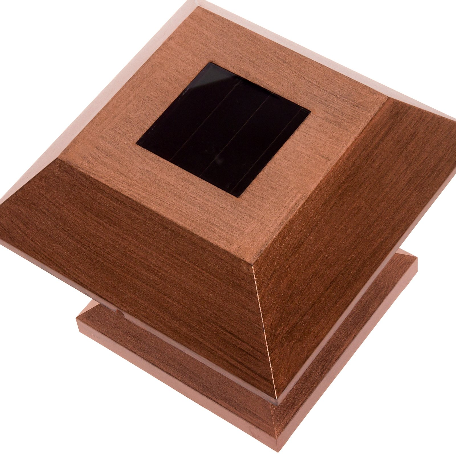GreenLighting Outdoor Summit Solar Post Cap Light for 4x4 Wood Posts 12 Pack (Brushed Copper) by GreenLighting (Image #3)