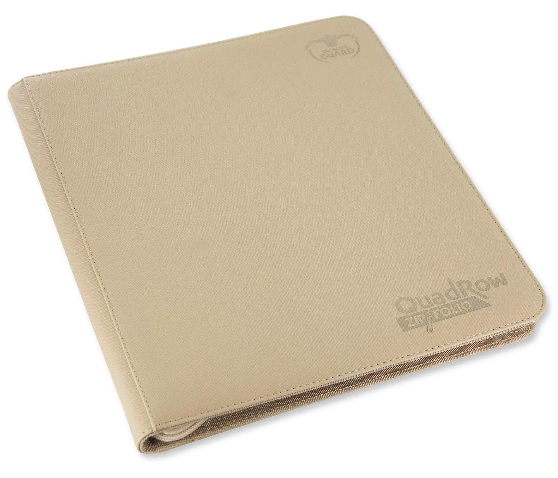 Ultimate Guard Quadrow Zipfolio Xenoskin Sand Cards