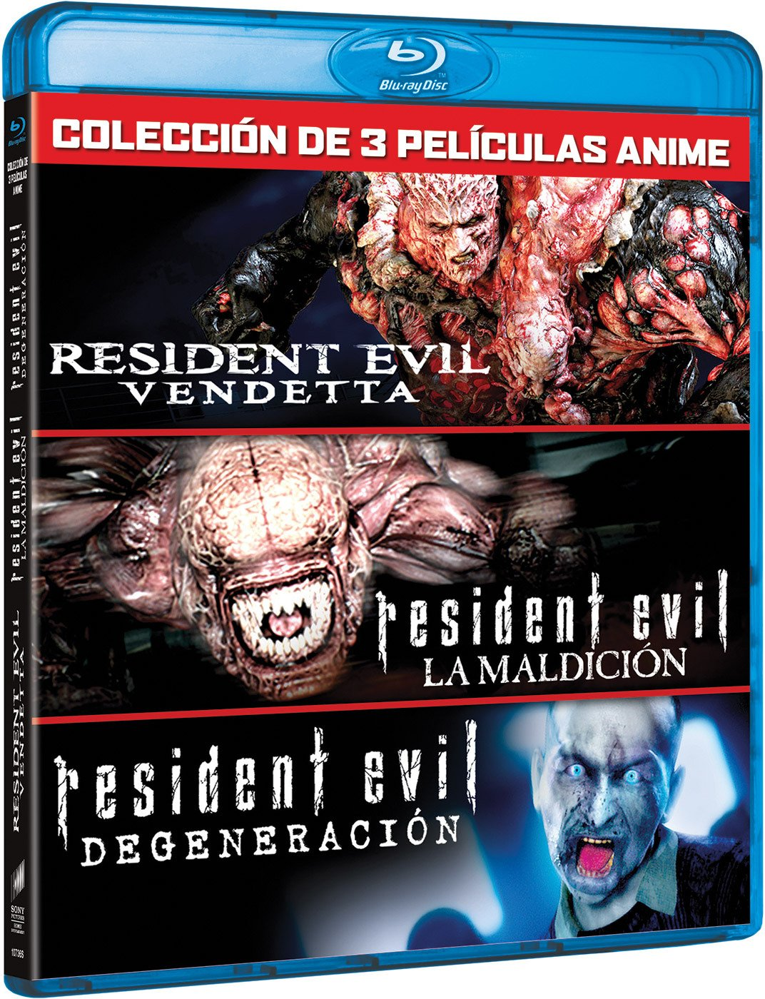 Pack Resident Evil: Vendetta (3 Peliculas) [Blu-ray]: Amazon.es ...