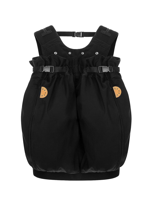 Weego Babytragesack Modell #322 TWIN Simply Black, speziell für Zwillinge ab einem Gewicht von 1800g Weego GmbH