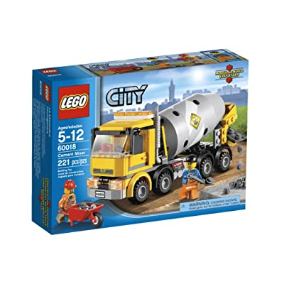 LEGO City Cement Mixer 60018: Toys & Games