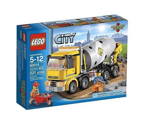 Amazon Lego City Cement Mixer 60018 Toys Games