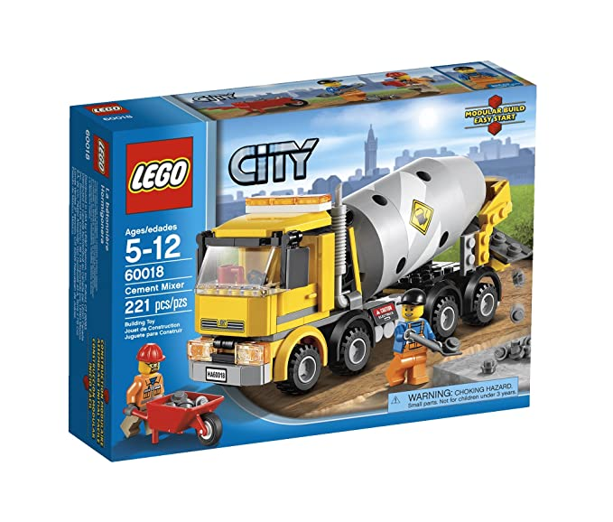 Amazon Lego City Cement Mixer 60018 Toys Games