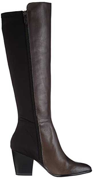 Tamaris 25815, Damen Langschaft Stiefel, Mehrfarbig (GRAPHITE/BLACK 208),  38 EU (5 Damen UK): Amazon.de: Schuhe & Handtaschen