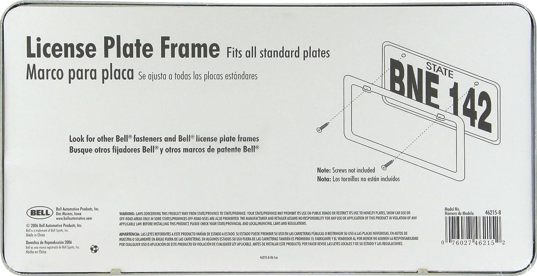 Bell Automotive 22-1-46215-8 Classic Chrome Dealer License Plate Frame