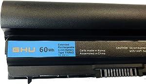 New GHU Battery RFJMW F7W7V Y61CV 60Wh Compatible with Dell Latitude Laptop E6220 6230 E6320 6320 E6230 E6330 6330 E6430s PN FRROG FRR0G 7FF1K J79X4 09K6P 0F7W7V 11HYV 312-1239 312-1381 312-1241