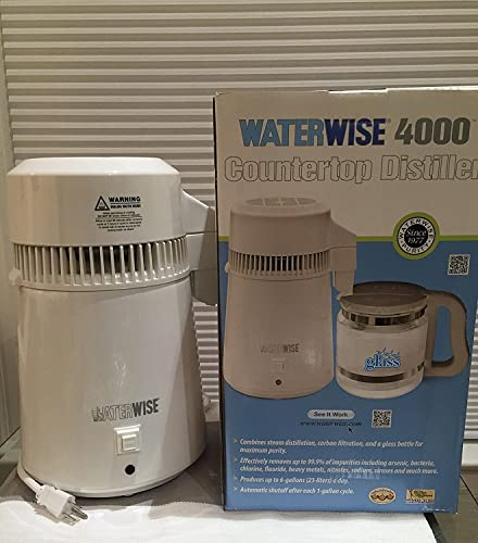 Waterwise 4000 Water Steam Distiller - Glass Jug