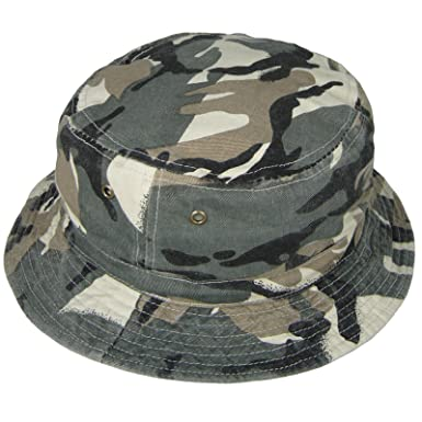 bed06b7d Hey Hey Twenty - Adults and Childrens Reversible Camouflage Bush Hat,  Colour : Faded Camouflage