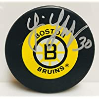 $49 » Tim Thomas Boston Bruins Signed Autographed Bruins Logo Hockey Puck