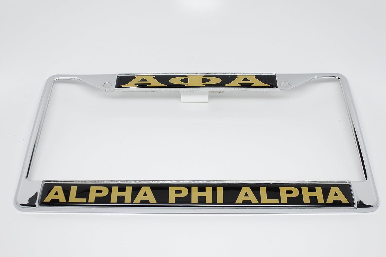 Amazon.com: Alpha Phi Alpha License Plate Frame: Automotive
