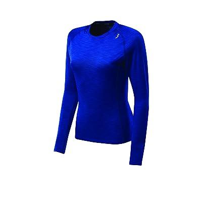 361 Degree Sports Apparel Womens Qu!K Heather Mesh Long sleeve Shirt